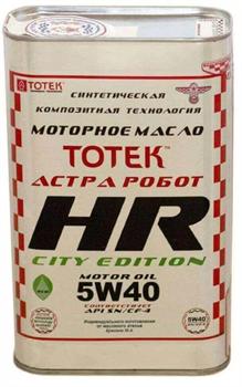 ТОТЕК HR-CITY EDITION SAE 5W40 - фото 4572